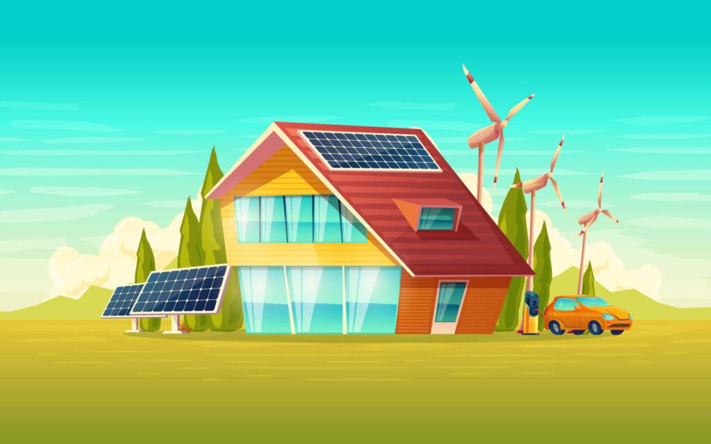energia renovable luz