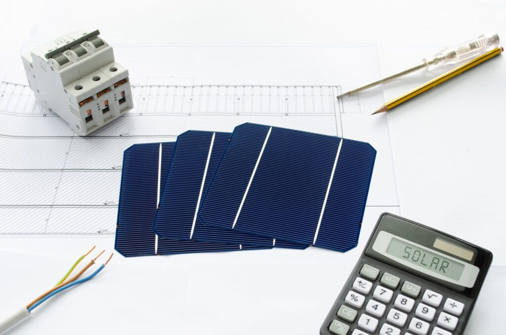mini placas solares